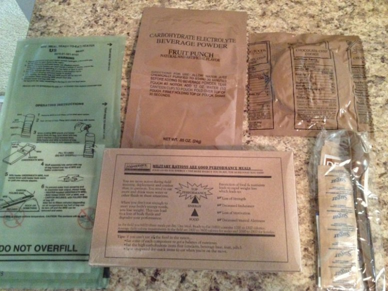 MRE Package Kit