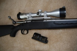 Savage Axis w/ Open Bolt and Magazine
