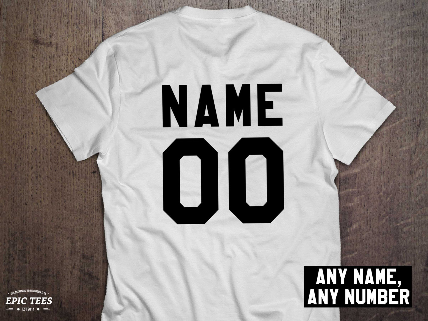 CUSTOM Name And Number Shirt Awesome Matching Shirts For