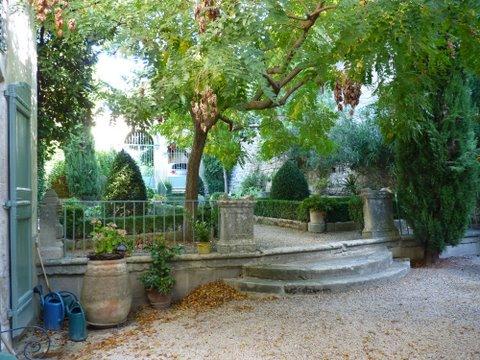 L'Orange garden entrance