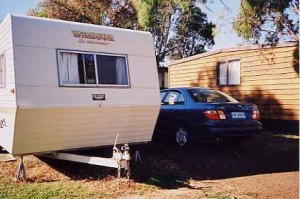 Caravan rental and a rental car