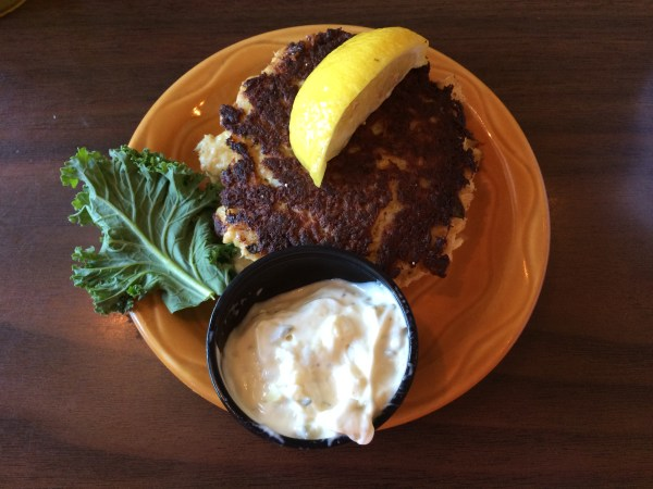 Crab Cake at Barbara Jeans.