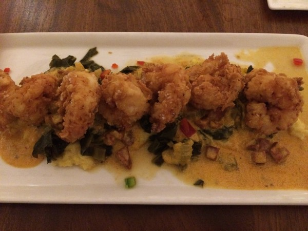 Shrimp and Grits at Echo.