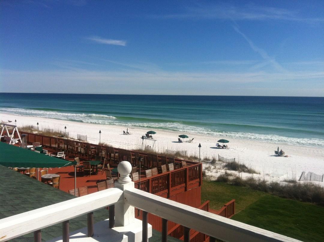 View at the Henderson Park Inn in Destin, Florida.