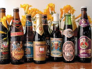 bottles of bock beer #2