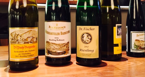 The Rieslings of Thanisch and Dr. Fischer