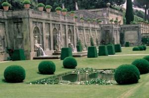 Gardens at Pontifical Villas