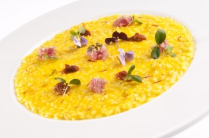 Cannavacciuio's sea urchin and sausage from Bra's risotto