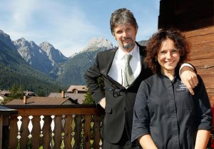 Chef Fabrizia Meroi and her husband/sommelier Roberto Brovedani