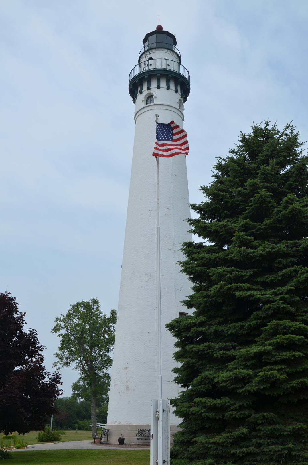 Wind Point Lighthouse.