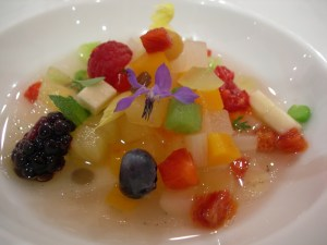 Crippa's fruit and vegetable soup