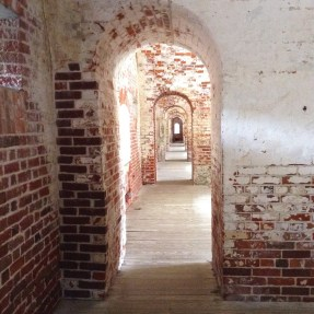 Outer Wall Corridor, Ft. Macon State Park