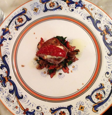 Seared Yellowfin Tuna at Pescara Wood Oven Kitchen, Atlantic Beach(Photo by Leah Wynalek)