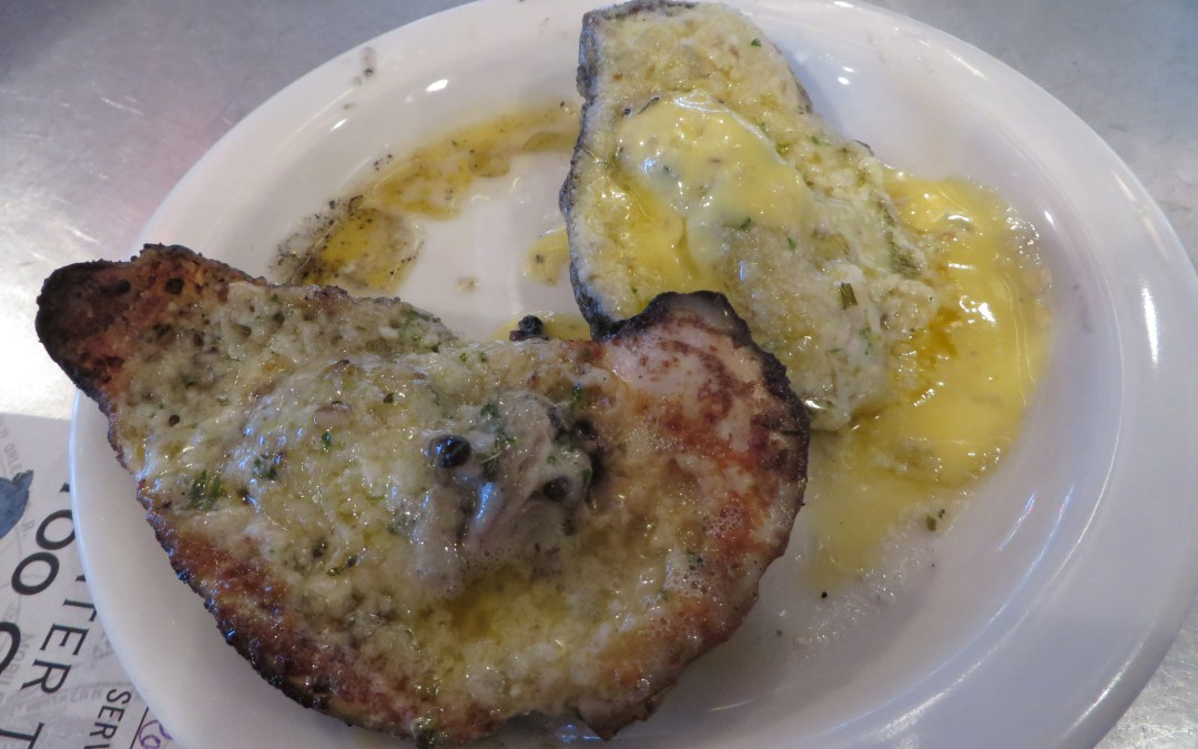 BLUEGILL: Flaming Oysters Served with Seafood, Sunsets and Live Music on Alabama's Mobile Bay