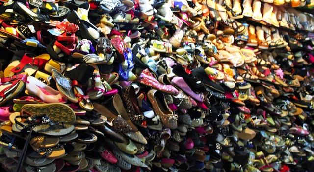 cambodia shoe wall