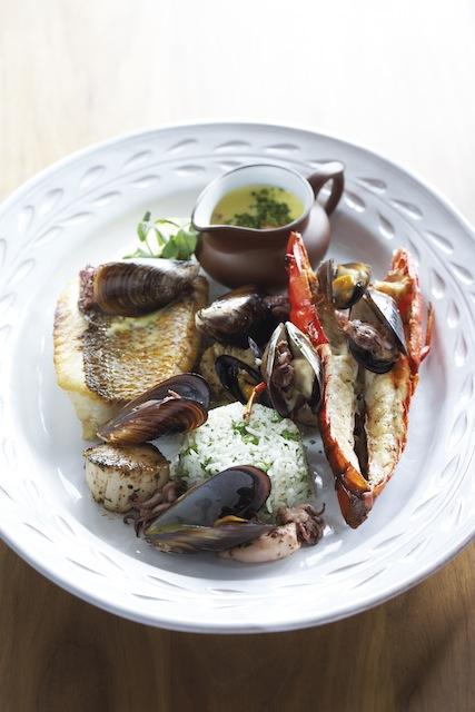 Catherinas Seafood Plate