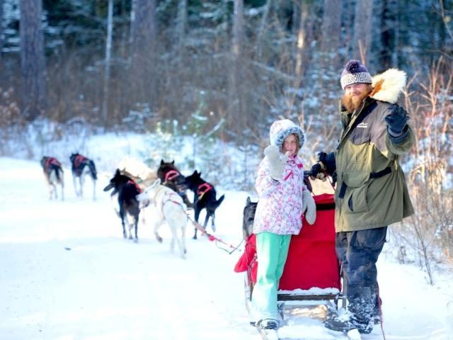 Gourmet Dog-sledding Getaway in Minnesota's Boundary Waters
