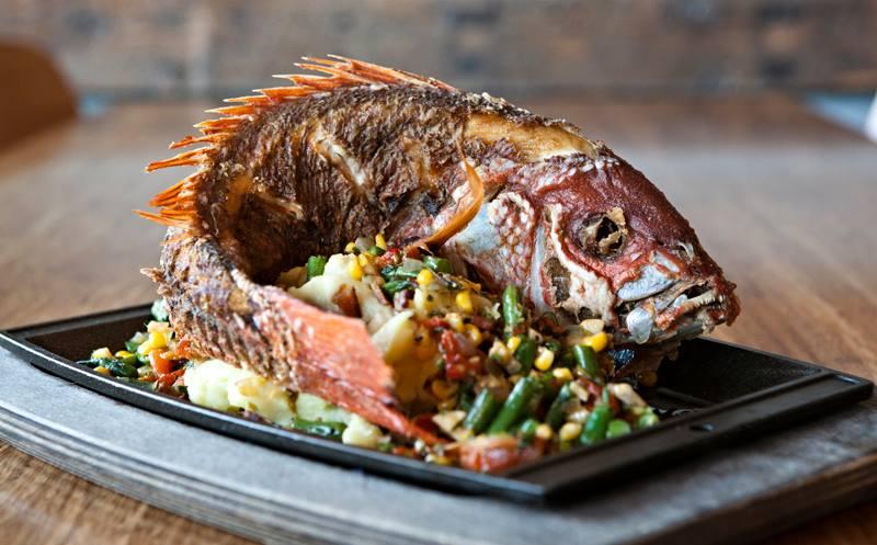 Downtown San Diego Restaurants Seafood Beer Pairing