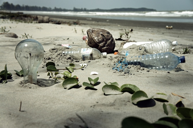 Bring reusable bottles to avoid waste from disposable ones. Photo courtesy of EpSos .de and Flickr