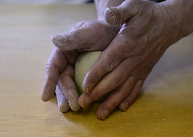 soba making