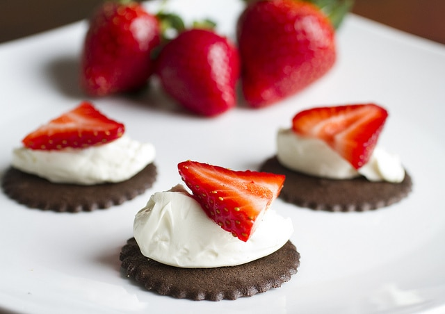 Chocolate , strawberry cookie pairing. Photo courtesy of Salem Baking Company.
