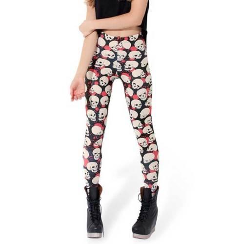 crazy print leggings