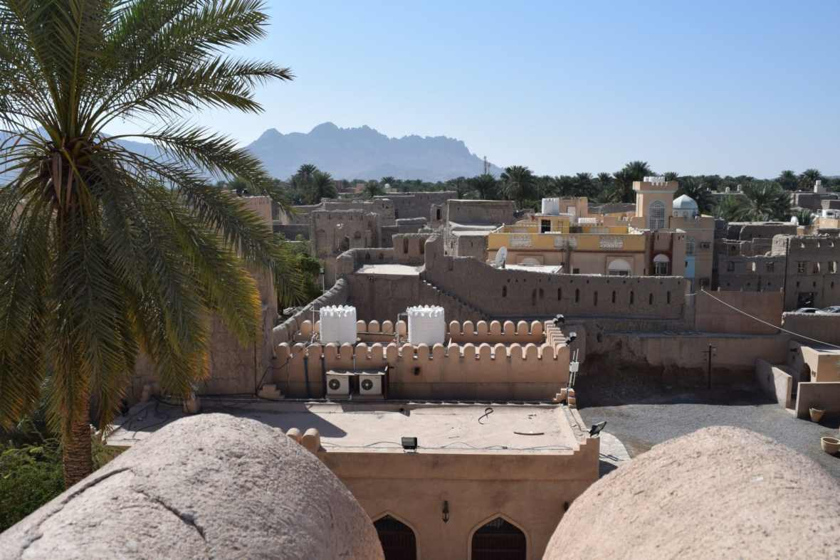 Views from Nizwa Fort to show Islamic Culture