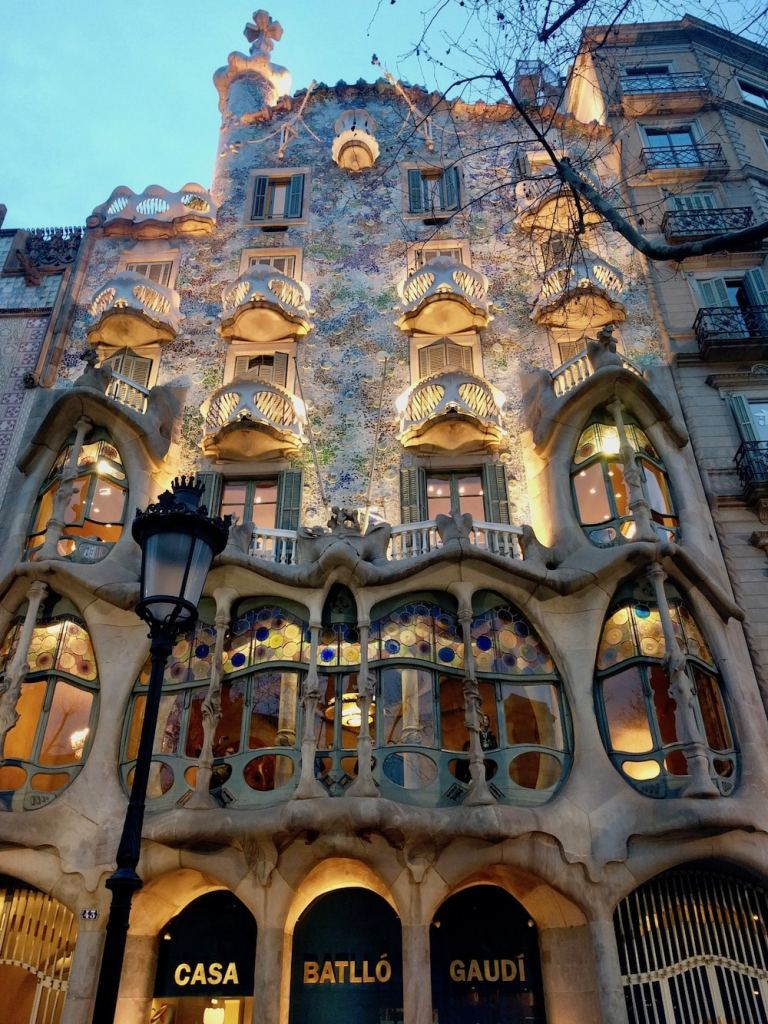 Gaudi masterpiece in Italy