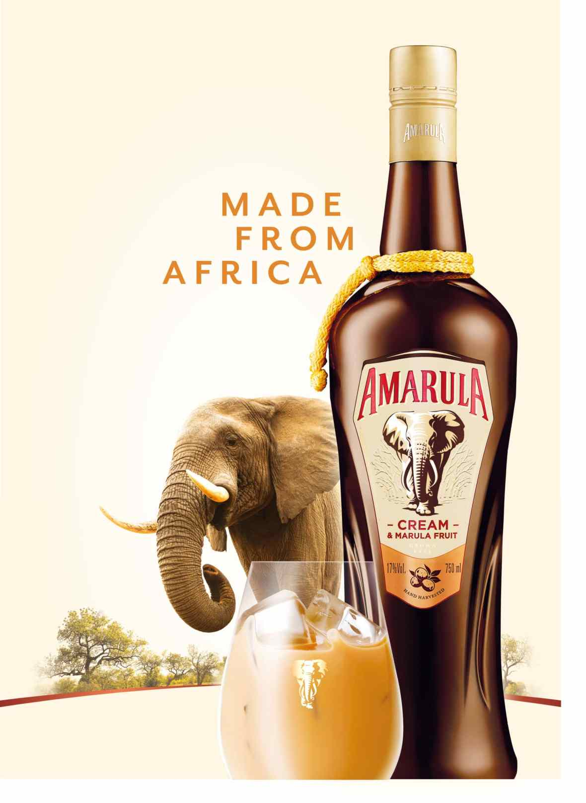 Cocktails for a cause Amarula.