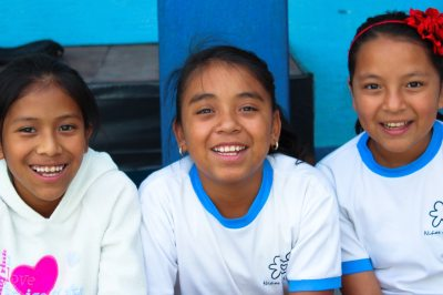 girls at a Niños de Guatemala school