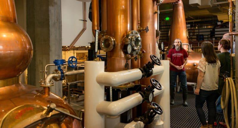 distilleries in washington