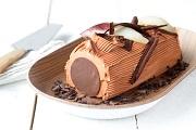 Bûche poire et chocolat
