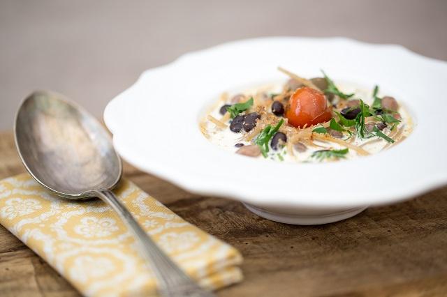 Soupe façon minestrone | Photo | F.Hamel - Une recette des Cercles Culinaires de France | www.epicuriendusud.com