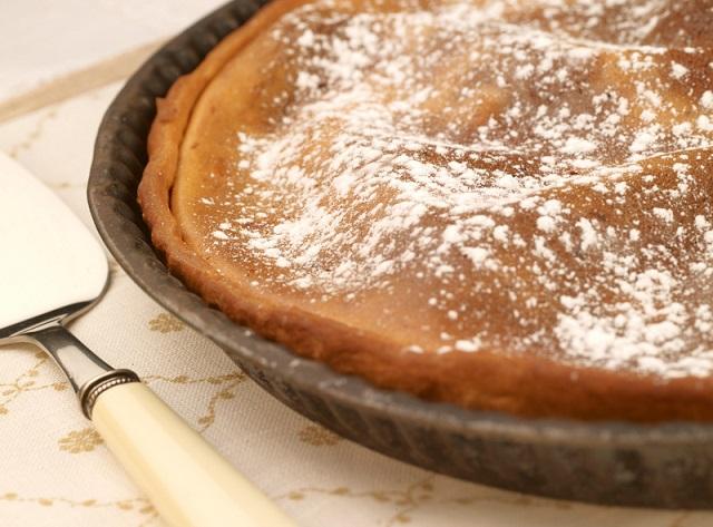 Tarte au flan | Photo C.Herlédan – Une recette des Cercles Culinaires de France