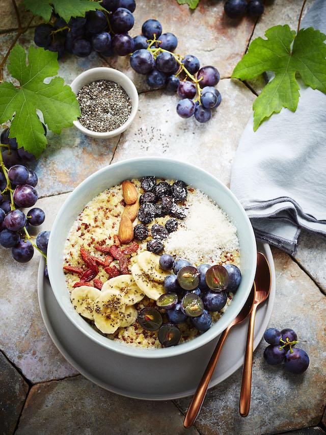 Bowl vitaminé des vendanges - Alexia JANNY-CHIVORET - Photographe : Pierre CHIVORET / www.epicuriendusud.com