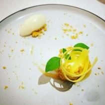 Le Grand Hôtel Cannes *****   Restaurant Park 45   Tiramisu aux citron de Monsieur Hérisson par Pascal Picasse   www.epicuriendusud.com