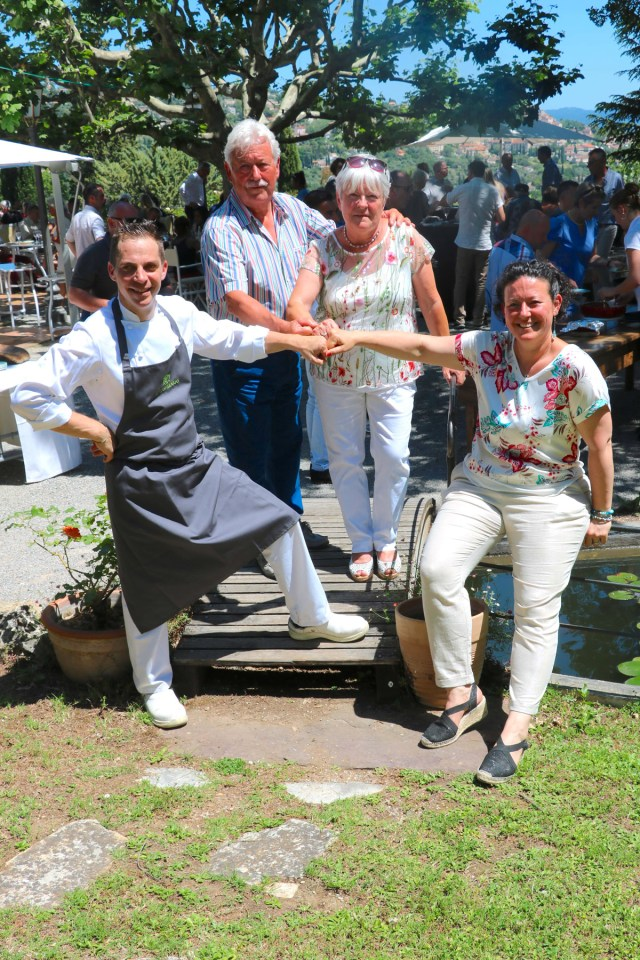 Le Castellaras célèbre ses 30 ans. Fayence (83). Photo : Agence Capitano/Co