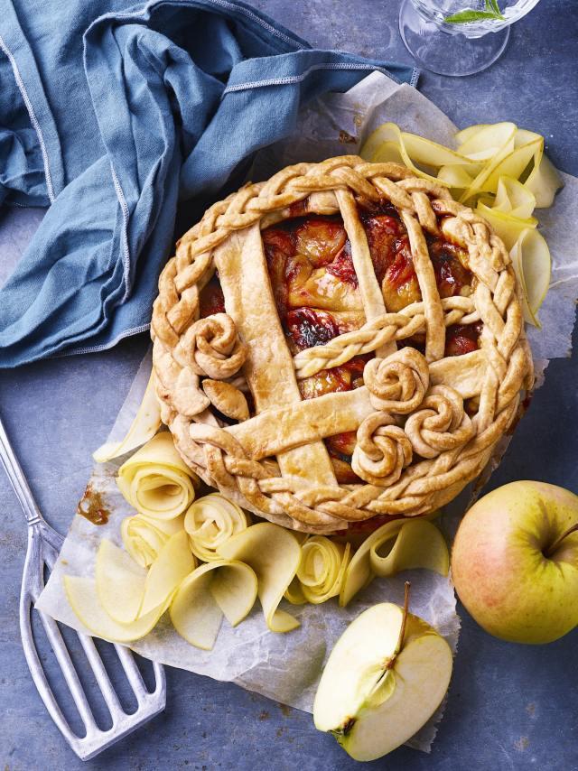Tourte aux pommes du Limousin - www.epicuriendusud.com