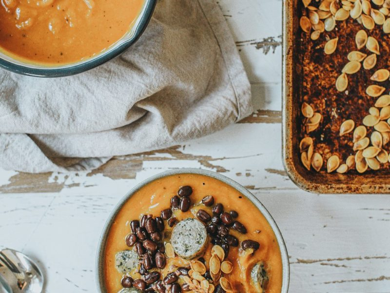 Pumpkin & Bean Soup
