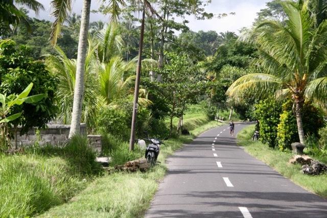 Roads in Bali, Indonesia