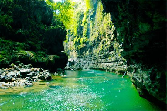 Trip To Green Canyon in West Java