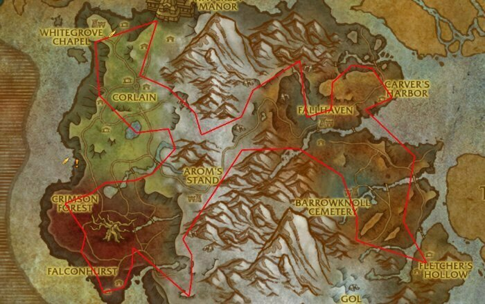 Monelite Ore Farm Route 5 - Drustvar