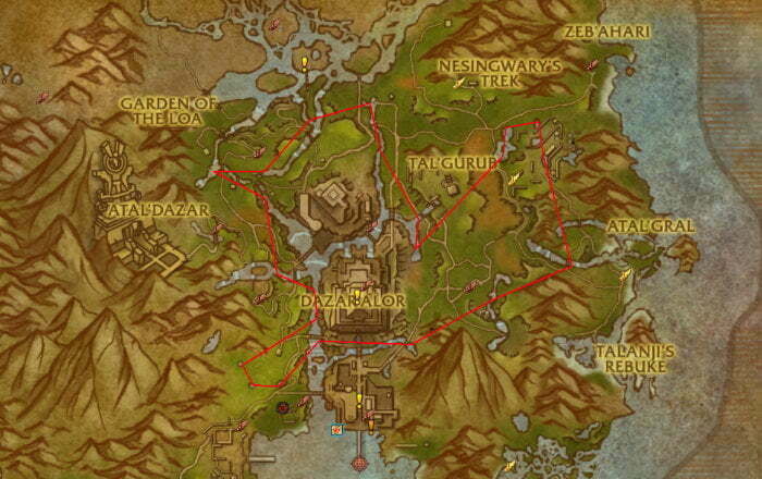 Riverbud Herb Farm Route 5 - Zuldazar