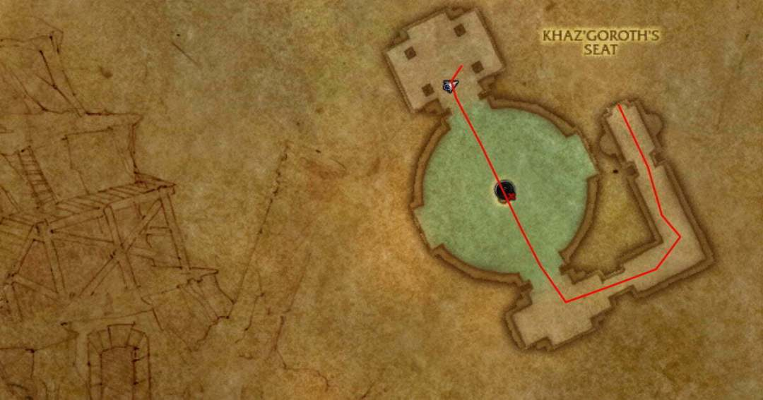 Dungeon Farms Uldaman route step 2