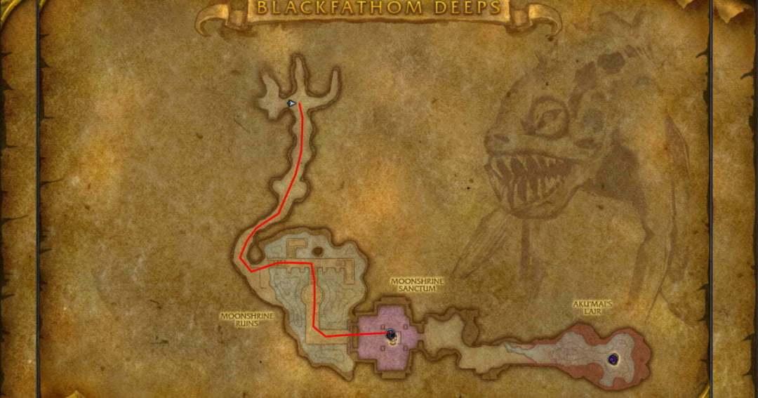Dungeon Fasrms Blackfathom Deeps Moonshire Sanctum