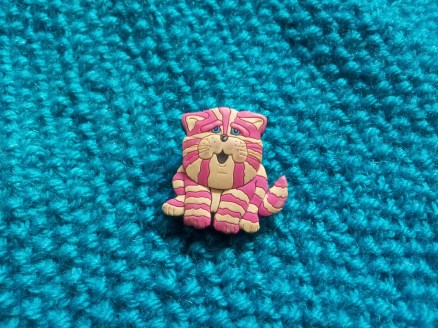 Broken bagpuss pin