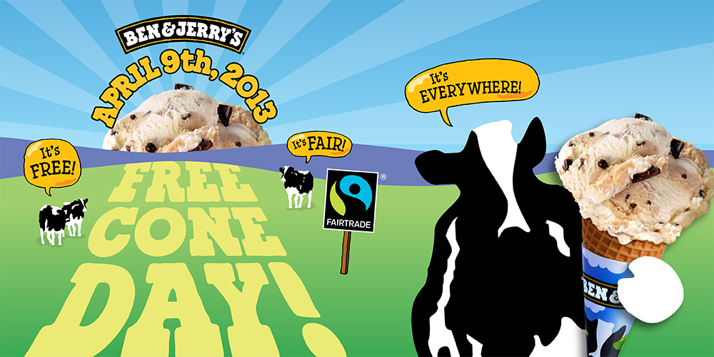 Free Cone Day is coming! April 9th, 2013
