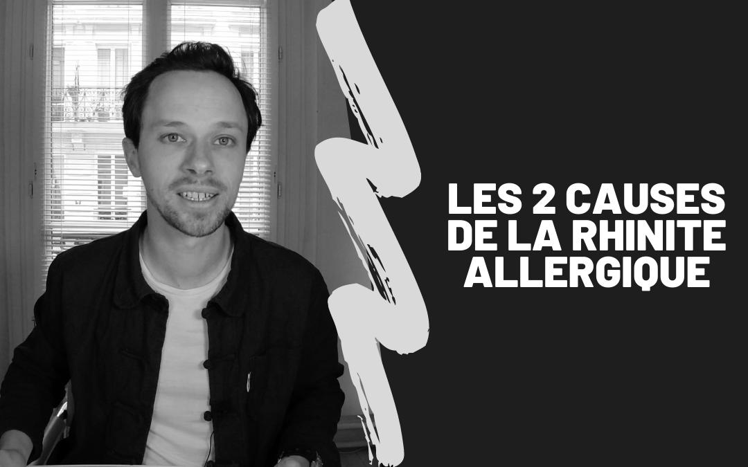 Les 2 Causes De La Rhinite Allergique