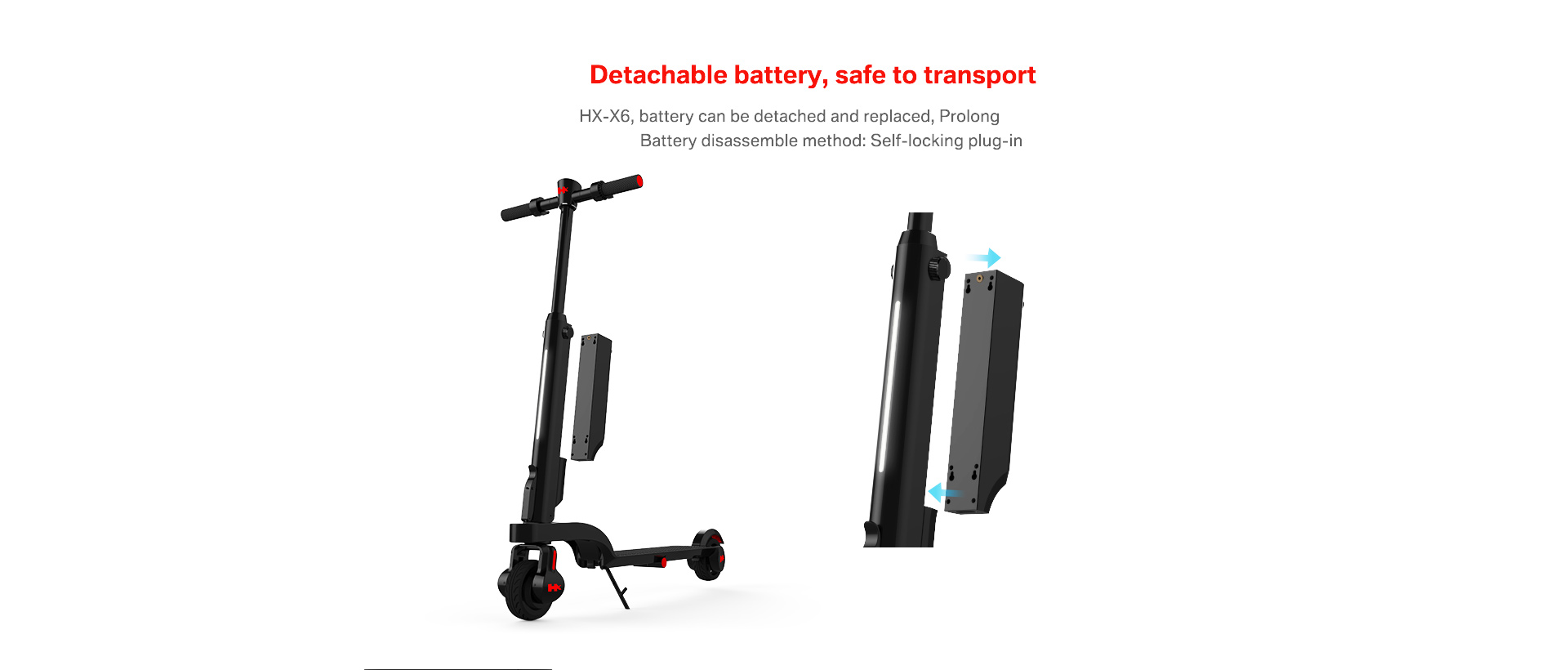 Hx Ultra Compact Electric Scooter Epikcure