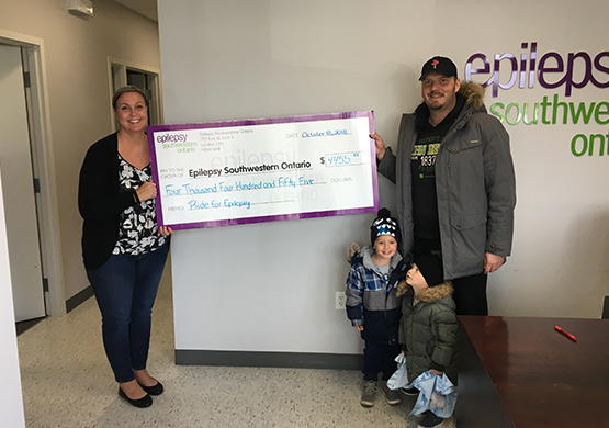 Ride for Epilepsy Thank You